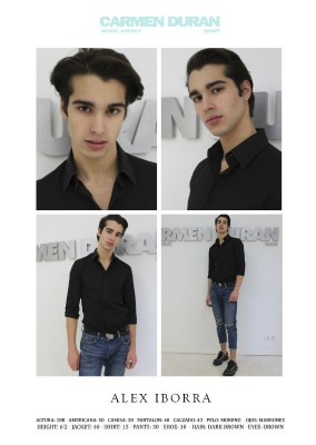 ALEX IBORRA. Carmen Duran Model Agency.